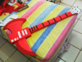 Marshall Lee Axe Guitar - Handmade - Cosplay by RonyeryX