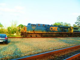 CSX 5487 by SwiftWindSpirit