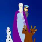 Gods cosplaying Frozen by icestar663