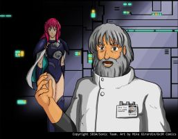 Phantasy Star IV Meet Rika No mystery shadows by Gx3RComics