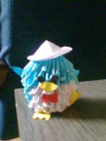 origami penguin by accina