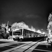 City Train Berlin infrared by MichiLauke