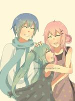LuKaito: Happy Family by pindanglicious