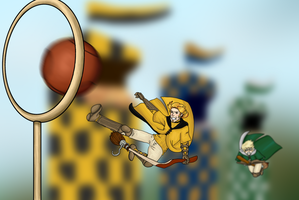 HA: Quidditch Game 1 by dreaminpng