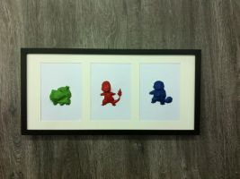 Pokemon paper frame by davidtruong