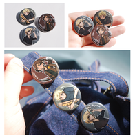 Hunger Games Buttons by Avender