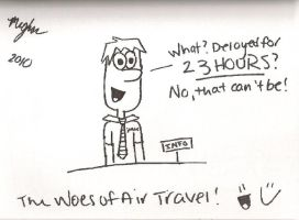 The Woes of Air Travel by Clueless825