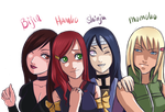 Konoha girls by Bibi-Books