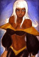 Young Ororo by wascl