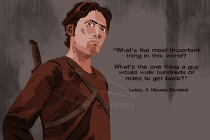 The Walking Dead - Luke Poster by jakest123