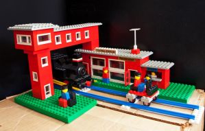 Lego 148 Central Station by AneurysmGuy