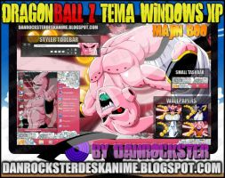 Majin Boo Theme Windows XP by Danrockster
