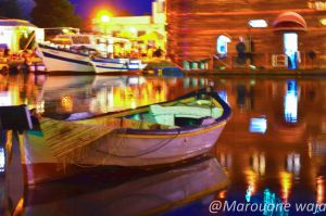 Color Boat by Marouanewaja