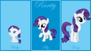 Rarity Wallpaper by lendaclue