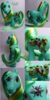 Cobra Lily custom pony by Woosie
