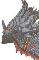deathwing by Kaellthass