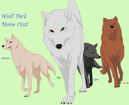 wolf pack move out ! by good-flippy