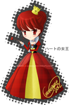Chibi Alice in Wonderland Series: Queen of Hearts by Chrys-o-prase