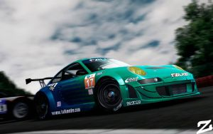 Porsche 997 GT3 RSR at Spa 3 by ZowLe