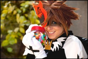 KH - Trick or Treat ... Treat by Evil-Uke-Sora