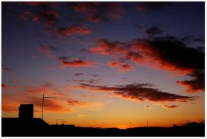 Red sky by agolam