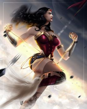Wonder Woman by axouel2009