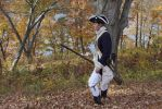 Revolutionary War- Scouting by the River by LethargicLink