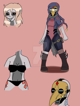 DreamScape oc ref: Plague by Cursed-Girl