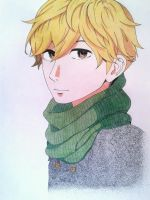 Mamura Daiki colored (Hirunaka no Ryuusei) by charuito