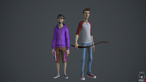 Ray and Gavin - Achievement Hunters by nthn-schtz