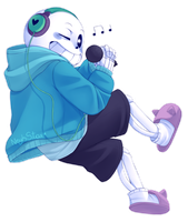 Drop Pop Candy!Sans by NeykStar