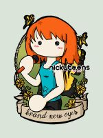 Paramore - Hayley Williams - Brand New Eyes by NickyToons