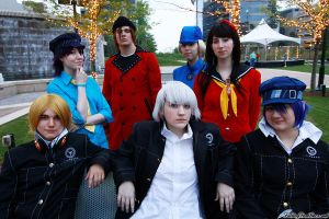 Persona 3 and 4 group by Mizu777