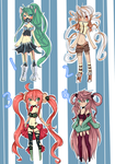Adoptables Collab CLOSED by milkie-nommi