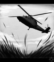 black helicopter by GearOtter