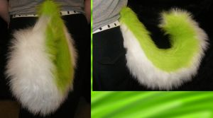 Green Husky Tail by YenriStar