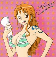 Nami swan by Art-is-a-Explosion