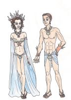 69th Hunger Games: District 4 Chariot Costumes by 13foxywolf666