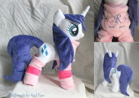 My Little Pony - Wet Rarity plush by Lavim