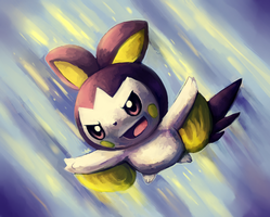 Emolga by MusicalCombusken