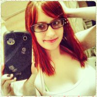 Dyed my Hair Red! by BlueberriFox