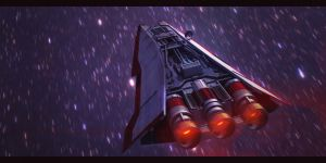 Star Wars Rebel Corvette 3D by AdamKop
