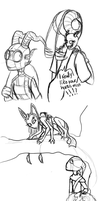 Doodles For Tea And Boo by dibXvexl