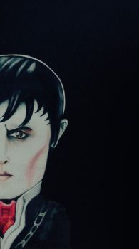 Johnny Depp in Dark Shadows by suddenlyvenusisme