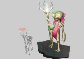 Swampy version of Fizz from league of legends by ImFriendly