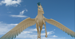 MMD Newcomer Pegasus + DL by Valforwing