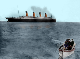 An Iceberg Awaits to Pierce Thy Heart by RMS-OLYMPIC