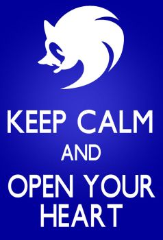 Keep calm and open your heart by leonarstist06