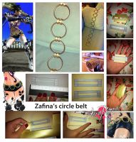 Zafina Belt Collage by AuraRinoa