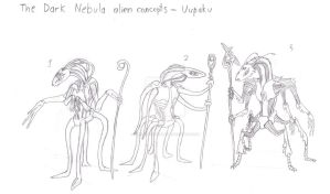 Uupaku Concepts Lineart by tonystardreamer